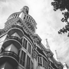 Отель ME Madrid Reina Victoria спортивное сооружение