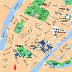 Hotel Scandic Sluseholmen Копенгаген городской автобус