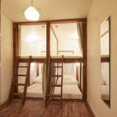 Отель haku hostel & cafe bar Япония, Томакомай - отзывы, цены и фото номеров - забронировать отель haku hostel & cafe bar онлайн комната для гостей фото 2