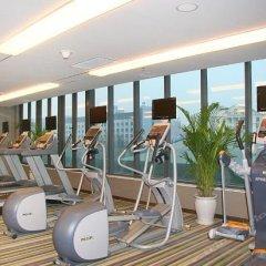 Отель Aloft Zhengzhou Shangjie фитнесс-зал фото 4