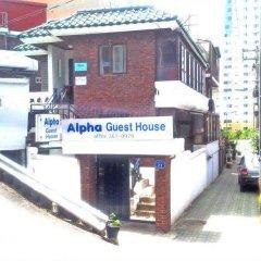 Отель Alpha Guesthouse Seoul парковка