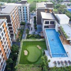 Balcony Courtyard Si Racha Hotel & Serviced Apartments бассейн фото 2