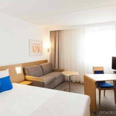 Отель Novotel Brussels Airport Бельгия, Диегем - 1 отзыв об отеле, цены и фото номеров - забронировать отель Novotel Brussels Airport онлайн комната для гостей фото 4