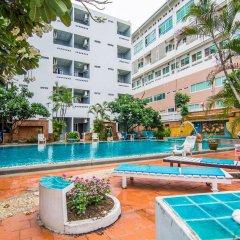 Отель Sutus Court 3 Таиланд, Паттайя - отзывы, цены и фото номеров - забронировать отель Sutus Court 3 онлайн бассейн фото 2