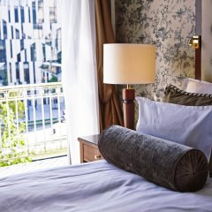 Отель Steigenberger Parkhotel Düsseldorf комната для гостей фото 8