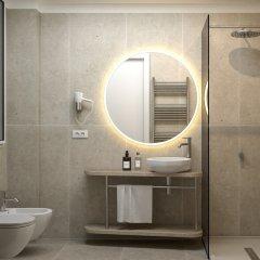 Отель Regina Elena 57 & Oro Bianco Spa Италия, Римини - 2 отзыва об отеле, цены и фото номеров - забронировать отель Regina Elena 57 & Oro Bianco Spa онлайн ванная