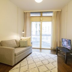 Апартаменты 2Ndhomes Kluuvi Apartments 2 Хельсинки комната для гостей