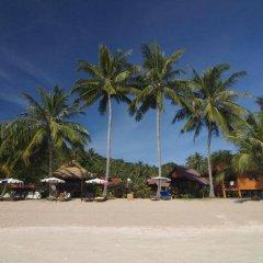Отель Palm Leaf Resort Koh Tao пляж фото 2