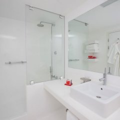 Su & Aqualand Турция, Анталья - 13 отзывов об отеле, цены и фото номеров - забронировать отель Su & Aqualand онлайн ванная