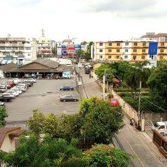 Отель The All 24 Luxury Residence Бангкок балкон