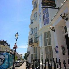 Отель Lichfield House Великобритания, Хов - отзывы, цены и фото номеров - забронировать отель Lichfield House онлайн вид на фасад