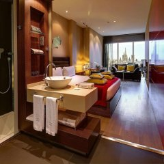 Отель Olivia Plaza Барселона ванная