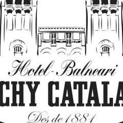 Отель Balneari Vichy Catalan парковка