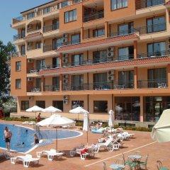 Отель Happy Sunny Beach Болгария, Солнечный берег - отзывы, цены и фото номеров - забронировать отель Happy Sunny Beach онлайн бассейн фото 2