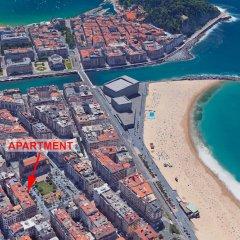 Отель 001 / Cantabric Plaza, Near La Zurriola Beach - Apartment for 8 People in San Sebasti?n Испания, Сан-Себастьян - отзывы, цены и фото номеров - забронировать отель 001 / Cantabric Plaza, Near La Zurriola Beach - Apartment for 8 People in San Sebasti?n онлайн пляж