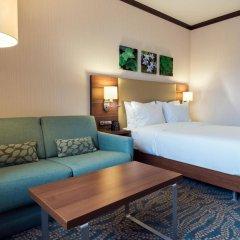 Гостиница Hilton Garden Inn Astana Казахстан, Нур-Султан - 1 отзыв об отеле, цены и фото номеров - забронировать гостиницу Hilton Garden Inn Astana онлайн комната для гостей фото 5
