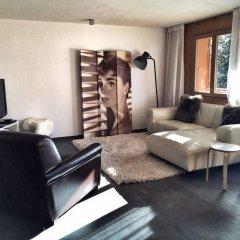 Апартаменты Gstaad Perfect Winter Luxury Apartment комната для гостей фото 3
