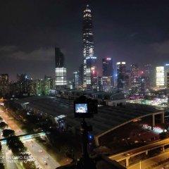 Отель Leisurely Hotel Shenzhen Китай, Шэньчжэнь - отзывы, цены и фото номеров - забронировать отель Leisurely Hotel Shenzhen онлайн балкон