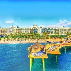 Отель Lyra Resort - All Inclusive Сиде приотельная территория