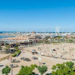 Hotel Corinna Римини пляж
