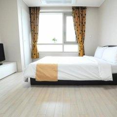 Отель Golden Forest Residence Южная Корея, Сеул - отзывы, цены и фото номеров - забронировать отель Golden Forest Residence онлайн комната для гостей фото 2