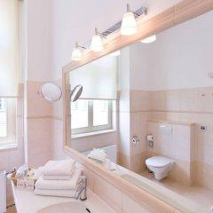 Отель Unitas Hotel Чехия, Прага - 9 отзывов об отеле, цены и фото номеров - забронировать отель Unitas Hotel онлайн ванная