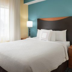Отель Fairfield Inn And Suites By Marriott Mall Of America Блумингтон комната для гостей фото 5