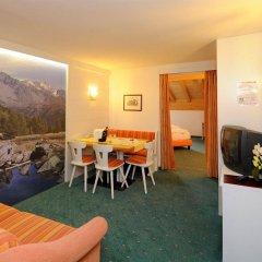 Hotel Alpenjuwel Горнолыжный курорт Ортлер комната для гостей фото 2