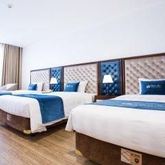 Отель Song Loc Luxury сейф в номере