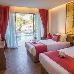 Отель The Beach Heights Resort Таиланд, Пхукет - 7 отзывов об отеле, цены и фото номеров - забронировать отель The Beach Heights Resort онлайн комната для гостей фото 2