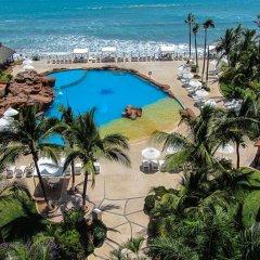 Costa De Oro Beach Hotel пляж
