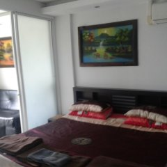 Апартаменты Wongamat Privacy By Good Luck Apartments Паттайя комната для гостей фото 5
