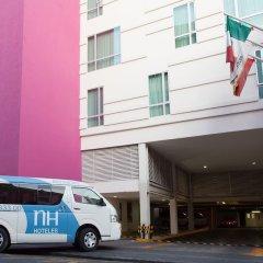 Отель NH Puebla Centro Histórico городской автобус
