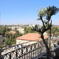 National Hotel Jerusalem Израиль, Иерусалим - 6 отзывов об отеле, цены и фото номеров - забронировать отель National Hotel Jerusalem онлайн балкон