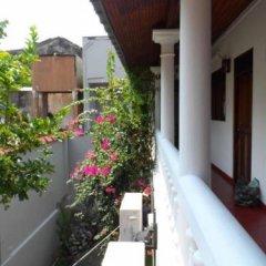 Отель Sam Villa Galle Fort Шри-Ланка, Галле - отзывы, цены и фото номеров - забронировать отель Sam Villa Galle Fort онлайн балкон