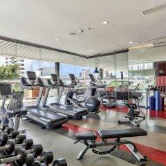 Отель Doubletree By Hilton Sukhumvit Бангкок фитнесс-зал фото 4