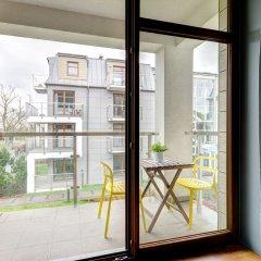 Апартаменты Dom & House - Apartments Sopocka Przystan Сопот балкон