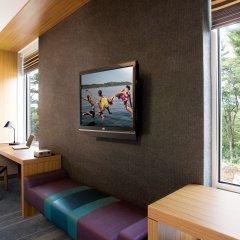 Отель Aloft Tulsa Downtown США, Талса - отзывы, цены и фото номеров - забронировать отель Aloft Tulsa Downtown онлайн комната для гостей фото 4