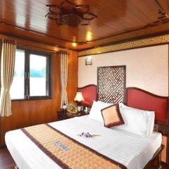 Отель Marguerite Cruises Вьетнам, Халонг - отзывы, цены и фото номеров - забронировать отель Marguerite Cruises онлайн комната для гостей фото 5