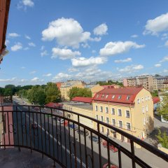 Гостиница Art Nuvo Palace балкон