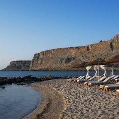 Отель Mitsis Lindos Memories Resort & Spa Греция, Родос - отзывы, цены и фото номеров - забронировать отель Mitsis Lindos Memories Resort & Spa онлайн пляж фото 2