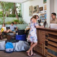 Отель Jacarandas-habitación Para 3 Personas en Mazatlán Масатлан интерьер отеля