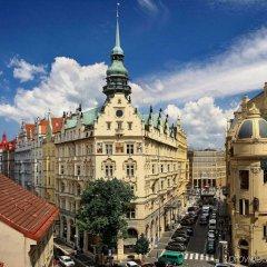 Hotel Paris Prague балкон