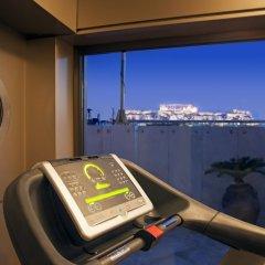 Отель Melia Athens Греция, Афины - 3 отзыва об отеле, цены и фото номеров - забронировать отель Melia Athens онлайн фитнесс-зал фото 4