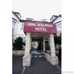 Отель King Solomon Hotel Великобритания, Лондон - 1 отзыв об отеле, цены и фото номеров - забронировать отель King Solomon Hotel онлайн вид на фасад