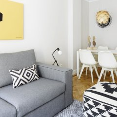 Апартаменты Zurriola Jazz Apartment by FeelFree Rentals комната для гостей