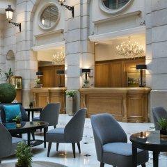 Paris Marriott Champs Elysees Hotel Париж интерьер отеля фото 3