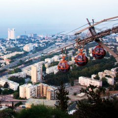 Отель Dan Panorama Haifa Хайфа балкон
