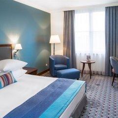 Отель Radisson Blu Hotel, Wroclaw Польша, Вроцлав - 1 отзыв об отеле, цены и фото номеров - забронировать отель Radisson Blu Hotel, Wroclaw онлайн комната для гостей фото 5