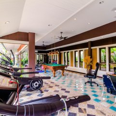 Отель Serene Boutique Garden Resorts фитнесс-зал фото 3